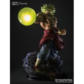 """Statuette en résine Dragon Ball Z HQS+ Broly le Super Saiyan Légendaire version """"King Of Destruction"""""""
