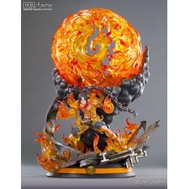 Statuette en résine One Piece HQS Portgas D. Ace