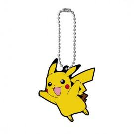 Porte-clés en caoutchouc Pokémon Rubber Mascot 7 Pikachu