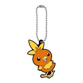 Porte-clés en caoutchouc Pokémon Rubber Mascot 7 Poussifeu