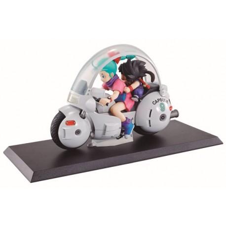 Figurine Dragon Ball Z Desktop Real McCoy Goku & Bulma